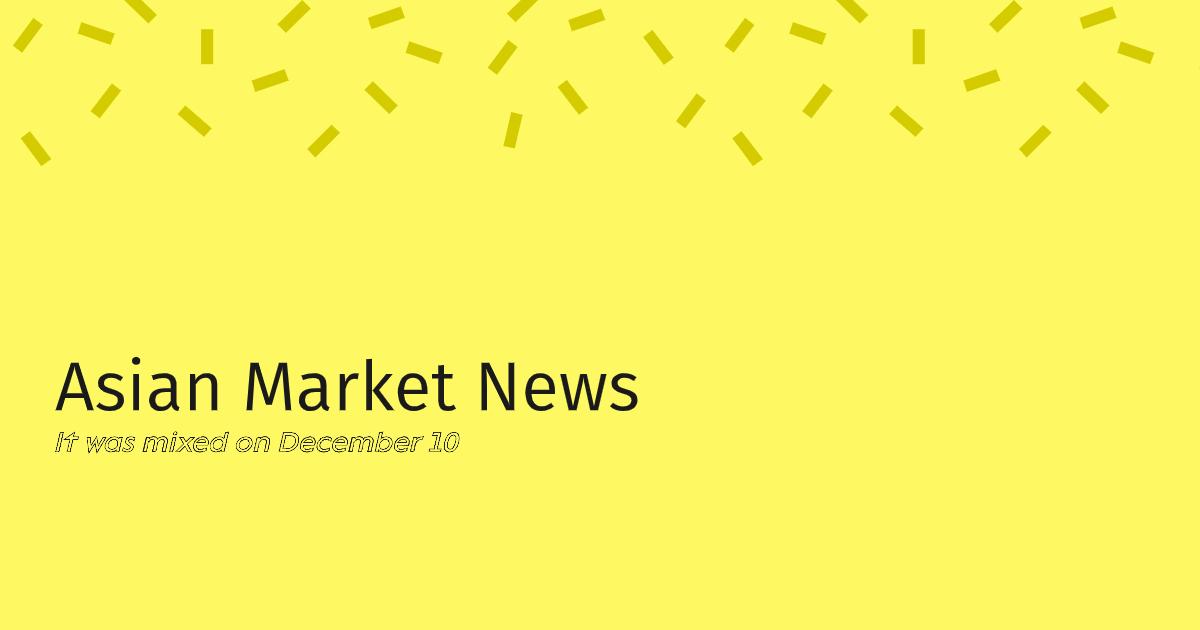 Asian Market News